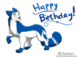 Happy 10th Tigrin by Clawshawt
