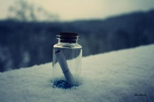 Magic bottle. by MauiMelle