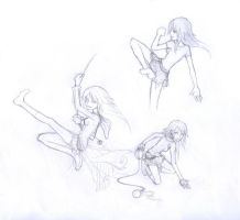 Poses by Zae369