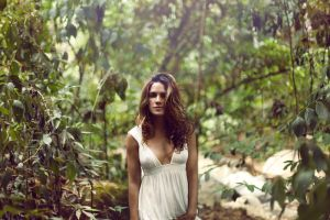 naty in the woods by RobbyP