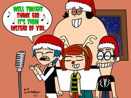 Grojband singing Christmas Time by DJgames