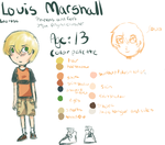 Louis Character Sheet by FucshiaWillow
