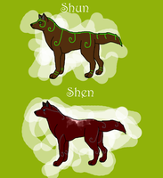 Shun and Shen ref by ice-or-fire