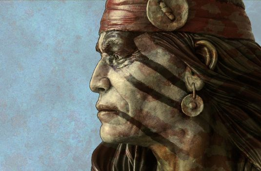 Apache chief by renemarcel27
