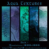 Aqua Textures Pack 01 by BFstock