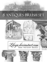 Antiques brush set by Lileya