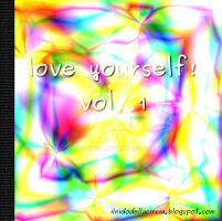 Love Yourself - self esteem album art by GaiaCincia