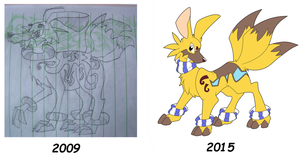 Redraw of an old character by AR-ameth