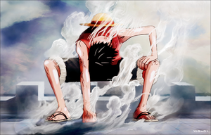 Luffy Gear Second by YoSim01