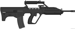 Singaporean Assault Rifle - SAR21M by Shockwave9001