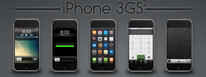 iPhone 3GS Squared by Spiker90910