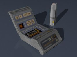 Medical Tricorder Papercraft by Tektonten