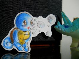 Paperchild 45. Pokemon 7 - Squirtle by FuriarossaAndMimma