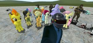 Meet My New Army In Garry's Mod  by DaftPunk2007