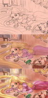 Tangled - Life Studies Colors by FalyneVarger
