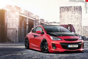Opel Astra OPC by CaR-MaNiA