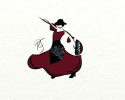 Flamenco Dancer by sinister7showdown
