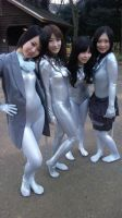 Zentai girls by mysexyzentai