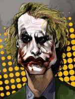 Joker Caricature by pietro-ant