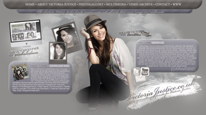 Victoria Justice header by xrecherche