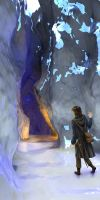 Fitz in the Ice Cavern by Crooty
