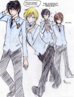 Ouran: A New Member by Yuumegari