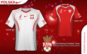 Poland Nike Home + Away Kit by Qugeist