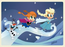 Frozen by Andres-Iles