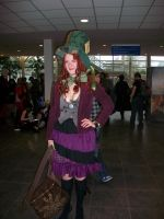 MCM Expo 2011- Female Hatter by Hatters-Workshop