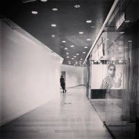 The Man in the Mall by attomanen