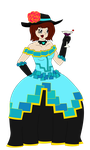 Pixel Gown by StateOfD-E-B
