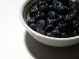 bowl of blueberries 3 by theartproject