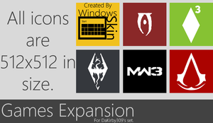 PC Games Expansion Pack by WinSkinOfficial