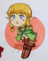 Chibi Linkle by gohe1090