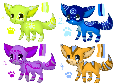 Wolf/dog adopts - name your price by IvonChee