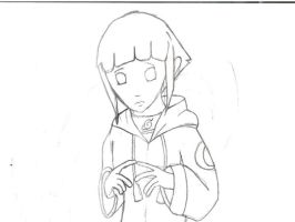Hinata sketch by haveacookie