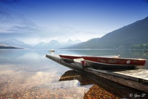 Lake McDonald MT by Yair-Leibovich