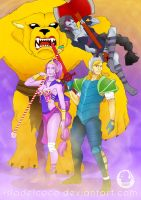 Adventure Time... RPG? by IslaDelCoco