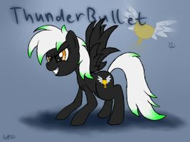 Thunder Bullet by Internetianer