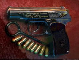 Joseph STALIN's own pistol by VladiT