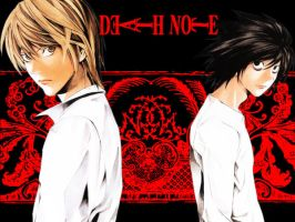 Death Note Wallpaper by Shugoa