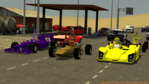 Racin' with the gang! by choche007carlos