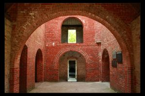 Squires Castle - Inside by timseydell