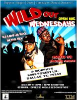 Wild Out Open Mic Wednesdays by tmarried