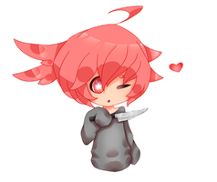 Crybaby thing cheeb by lycheeion