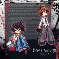 Death Note Chibis by StarMasayume