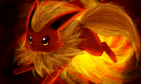 Flareon by DigitalApoz