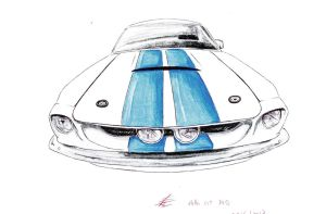 Shelby GT500 1967 by SamanthaErikArt27