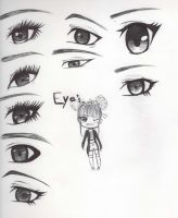 9 Ways to draw eyes by ToppKlass