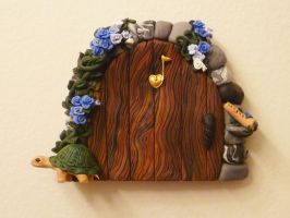 Maggie's Fairy Door by FlyingFrogCreations